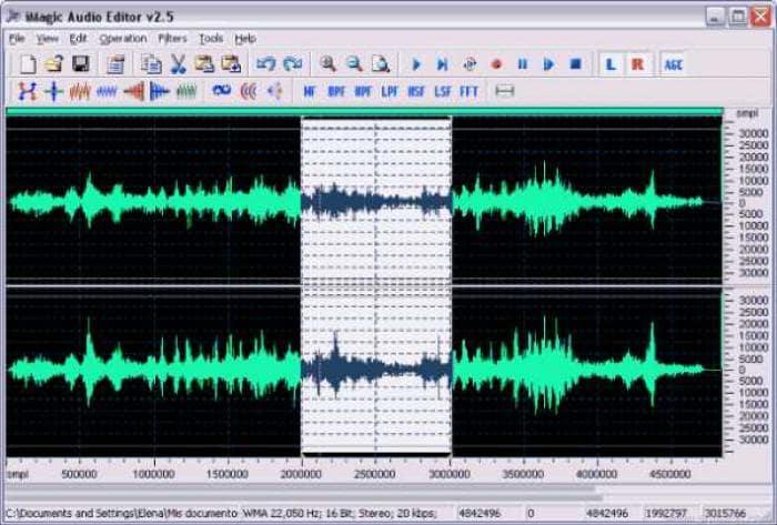iMagic Audio Editor