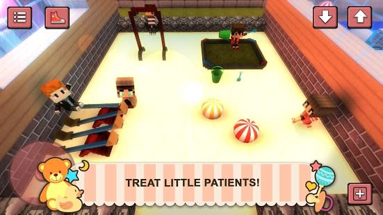 Baby Hospital Craft: Newborn Care. Doctor Games