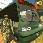 Army Transport Bus Driver 3D - Military Staff Duty varies-with-device