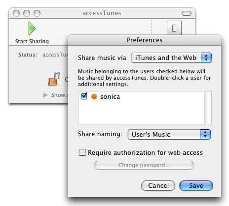 accessTunes
