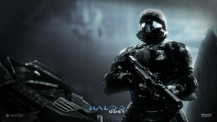 Halo 3: ODST - Wallpaper