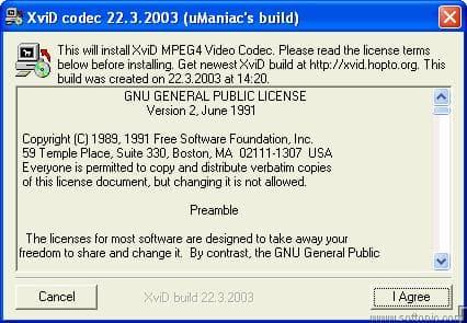 uManiac's XviD codec