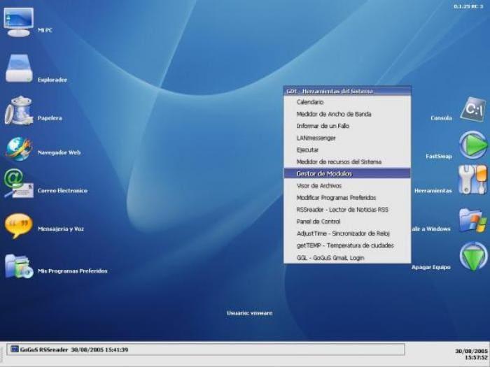 GoGuS Desktop Environment