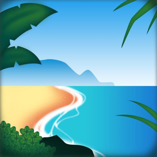 HawaiiMoji - Hawaiian Food Drink Text Stickers