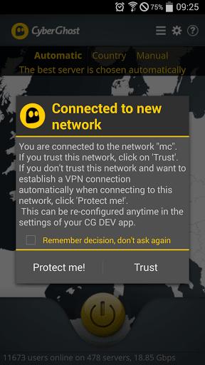 CyberGhost - Free VPN & Proxy