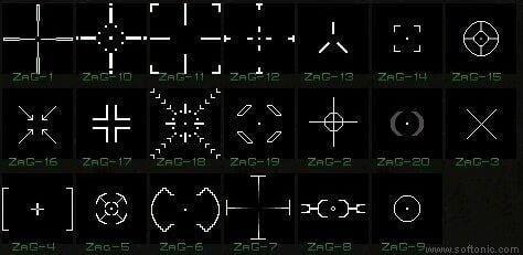 ZaGhost-X Crosshairs