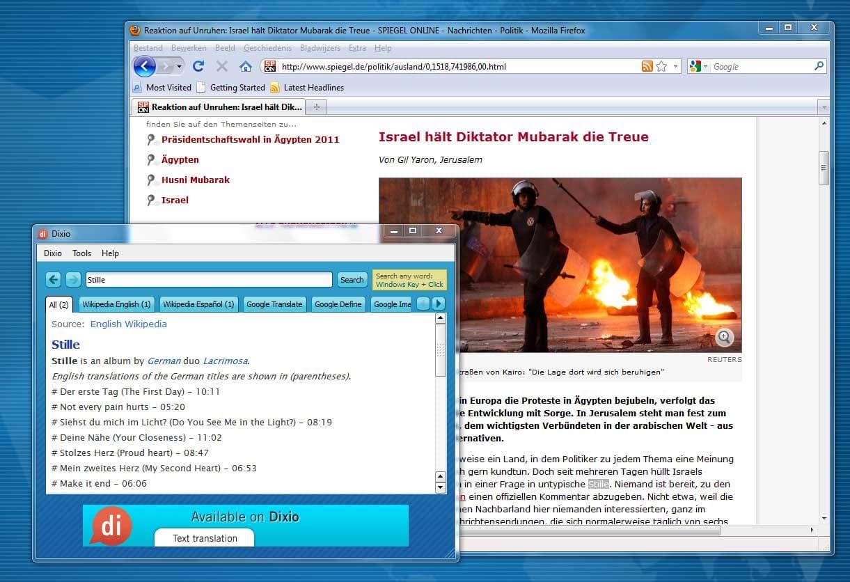 Dixio Desktop