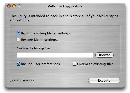 MellelBackup