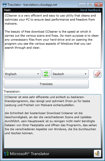 Translator Desktop