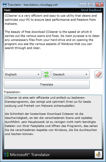Translator Desktop