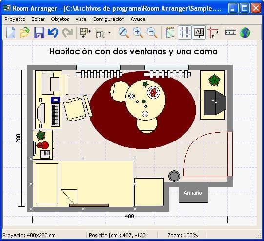 Room arranger descargar for Simulador habitacion 3d