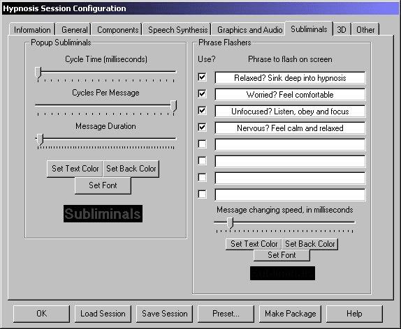 Virtual Hypnotist