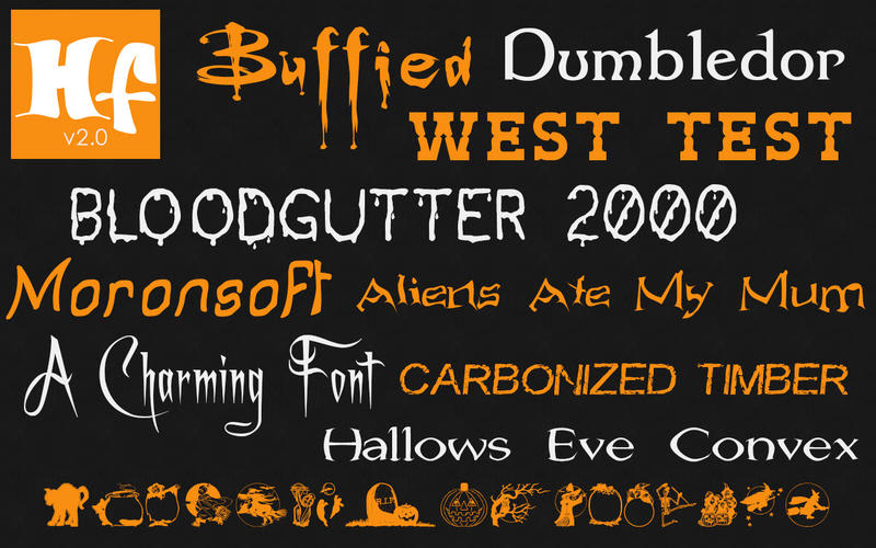 Halloween Fonts: Free Commercial Use Holiday Fonts