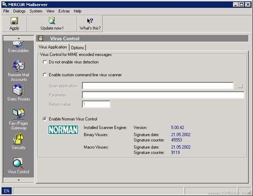 MERCUR Mail Server