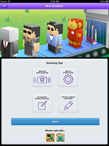 Minecraft Skin Scanner