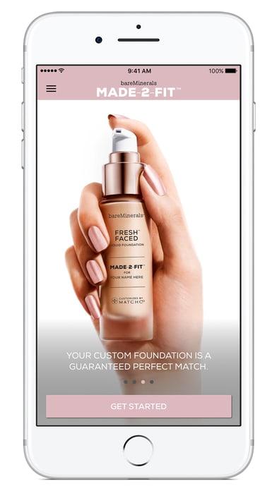 bareMinerals MADE-2-FIT Foundation makeup match