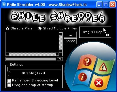 Phile Shredder