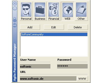 Agile Password Manager
