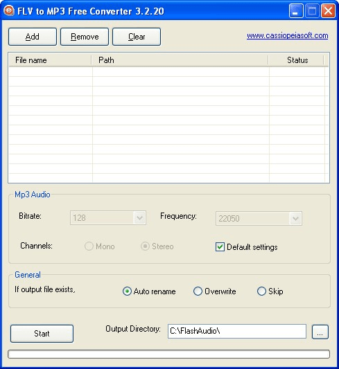 FLV to MP3 Free Converter