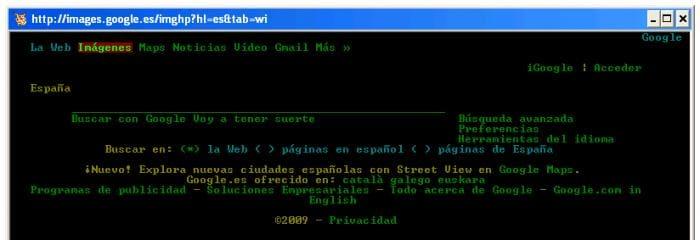 Lynx: Navega por Internet desde la línea de comandos