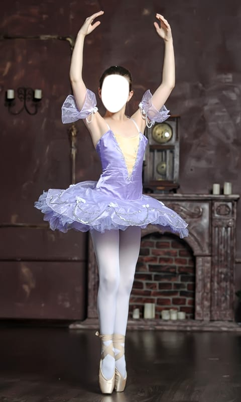 Ballerina Girls Photo Montage