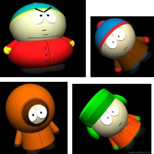 The South Park 3D Spectacular Screensaver