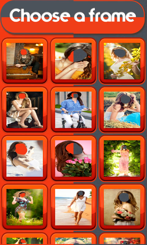 Romantic Woman Photo Montage