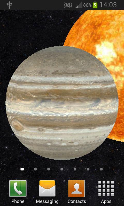 Solar System 3D Free LWP