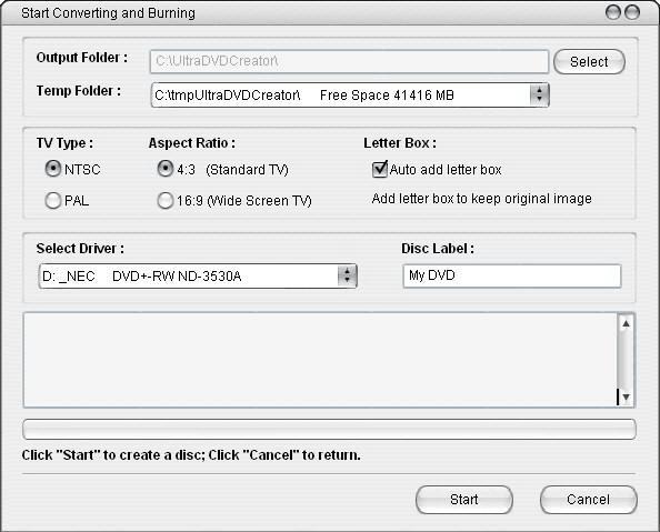 Ultra DVD Creator