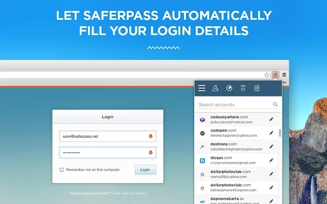 SaferPass for Chrome