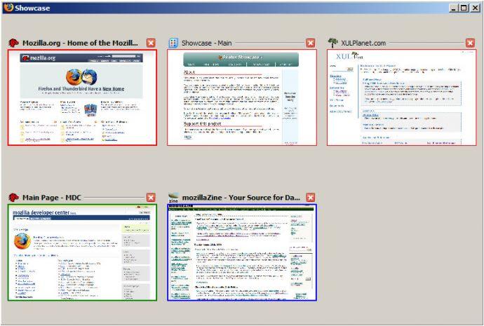 Firefox Showcase
