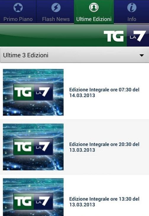 TG La7 Mobile
