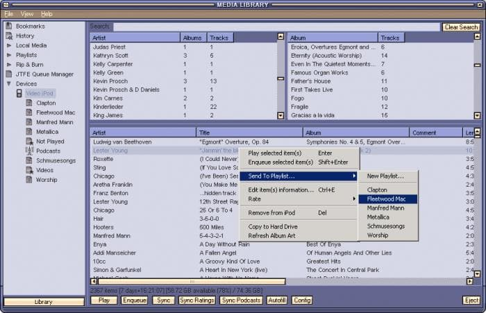 iPod Plug-in for Winamp