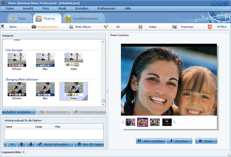 Photo Slideshow Maker Professional