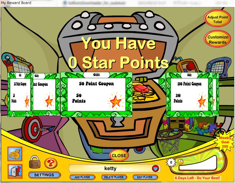 My Reward Board