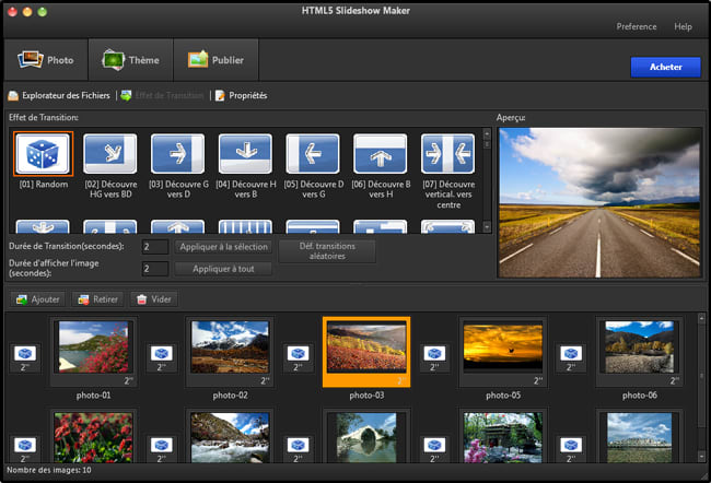 HTML5 Slideshow Maker Free