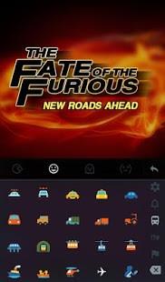 Fate of Furious Keyboard Theme
