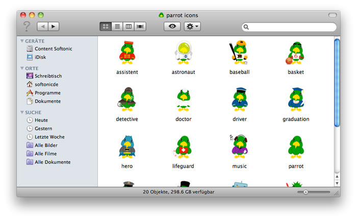 Parrot Icons