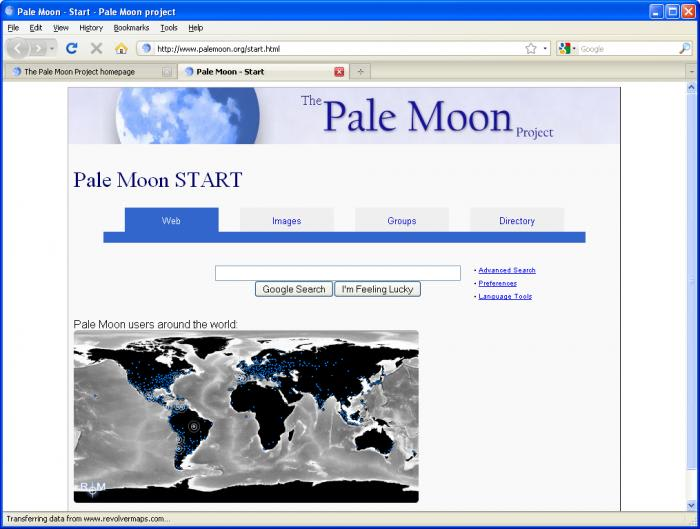 Pale Moon