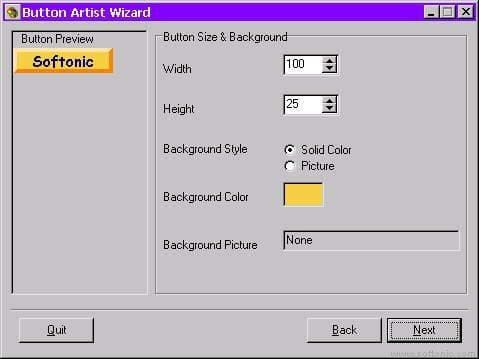 Button Artist Wizard