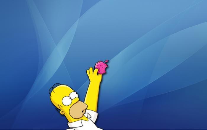 Thème de bureau Homer Simpson