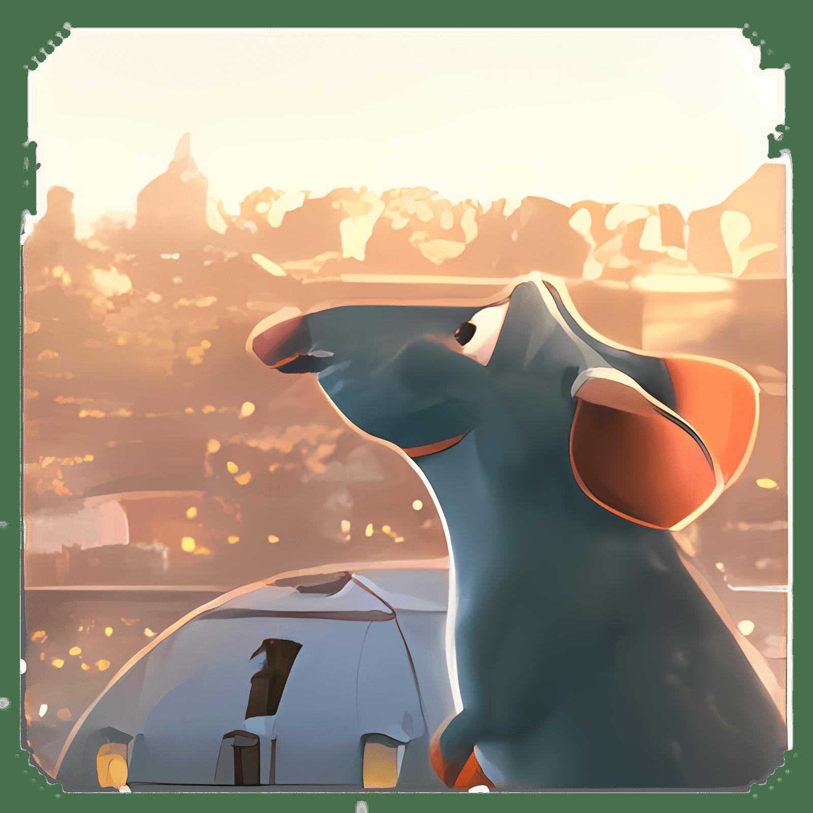 Ratatouille Remy Wallpaper