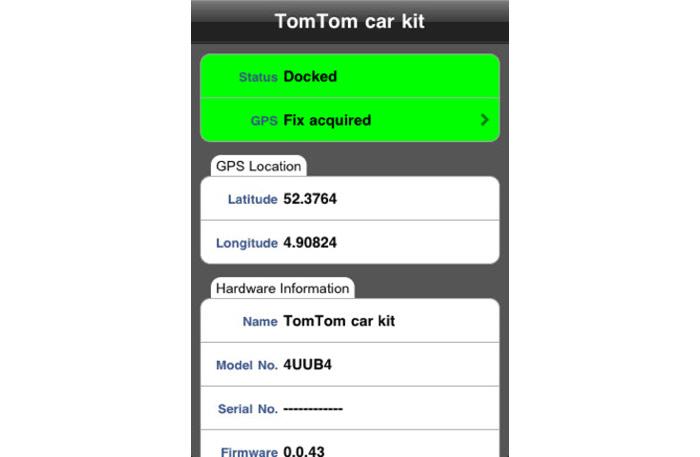 TomTom car kit tool