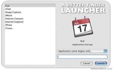 A Better Finder Launcher
