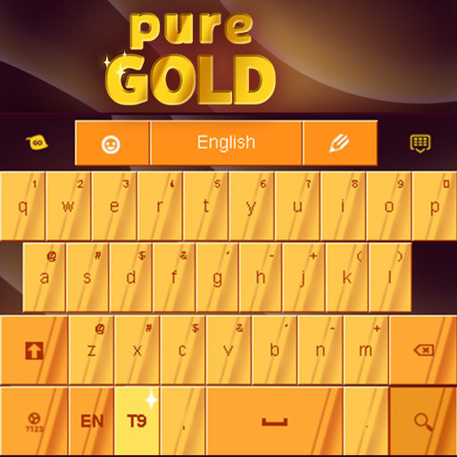 Gold Pure Keyboard