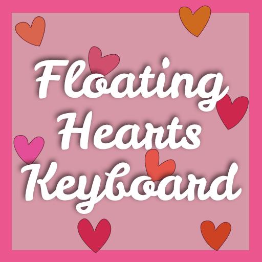 Floating Hearts Keyboard