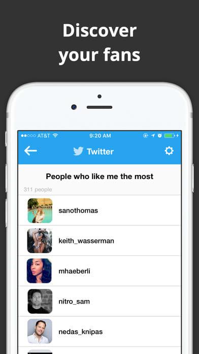 Social Tracker - Social Account Follower Analytics