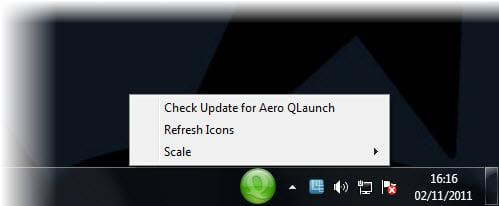 Aero QLaunch