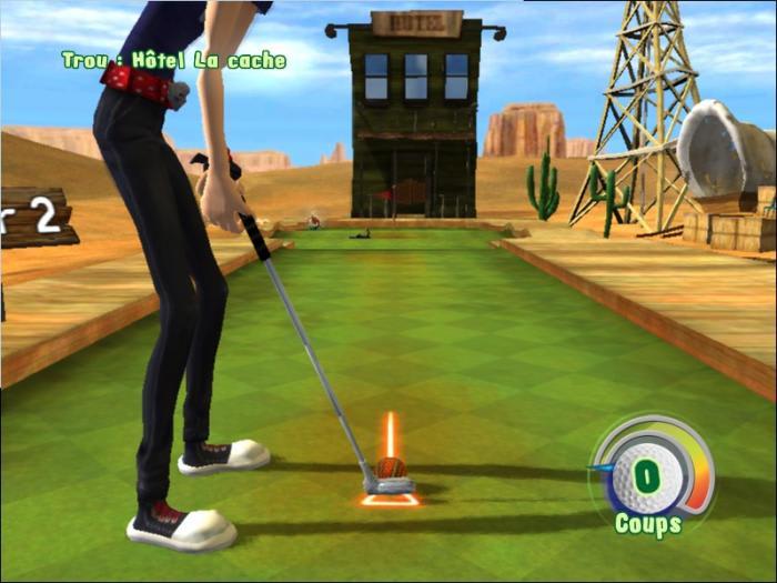 3D Mini Golf Adventure