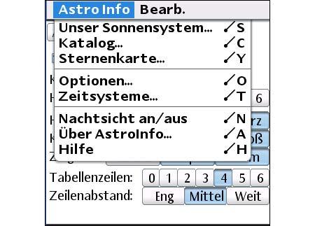 Astro Info